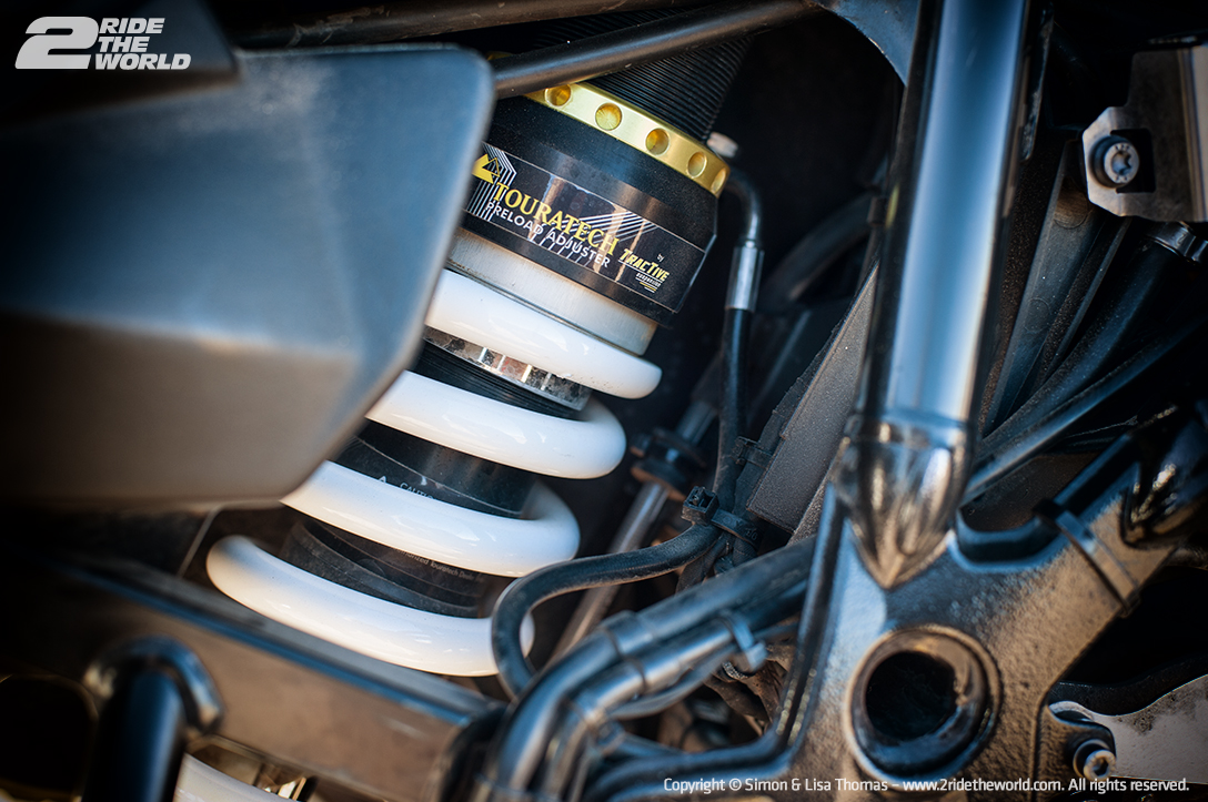 F800GS RearSuspension