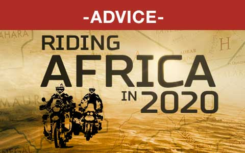 Riding Africa Advice 2020