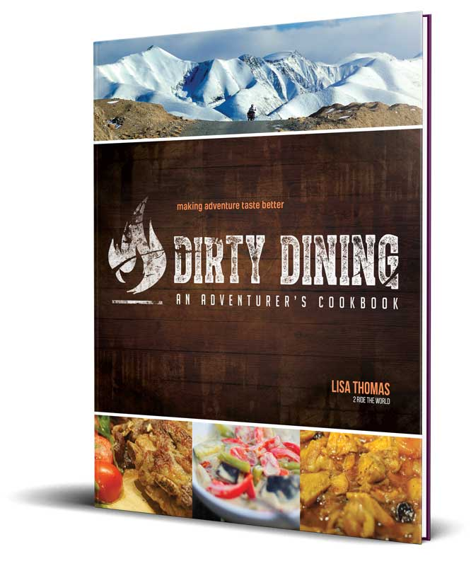 dirty dining book upright
