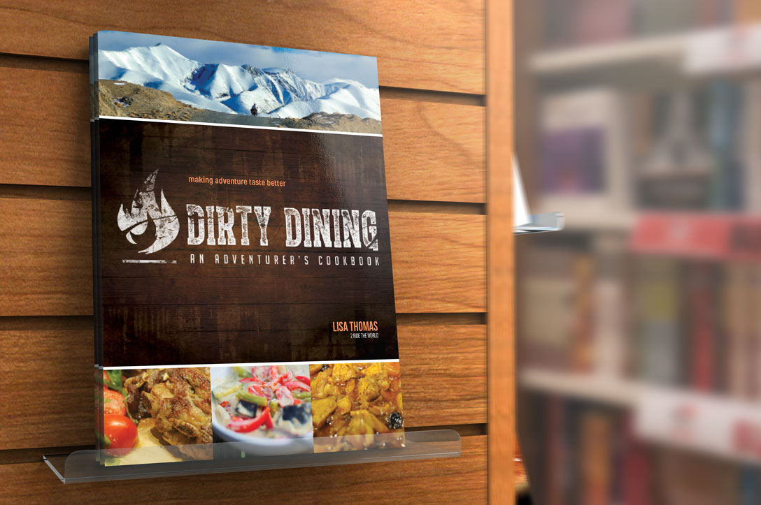 dirty dining on shelf