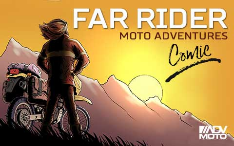 FAR-RIDER Adventure Riding Comic