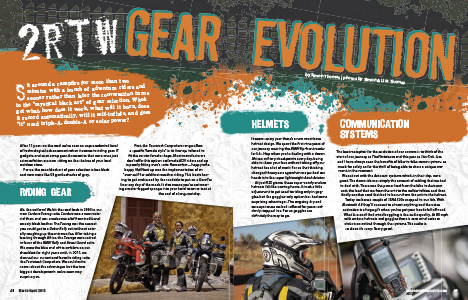 advmoto gear evolution