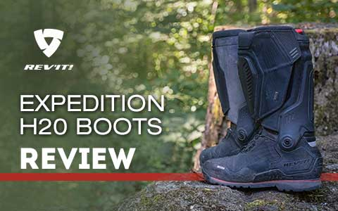 REV'IT! Expedition H20 Boots review