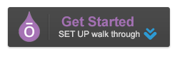 get started button dark