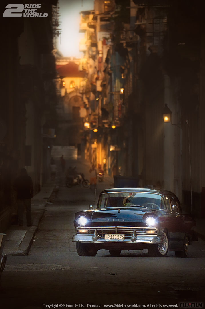 havana morning light car
