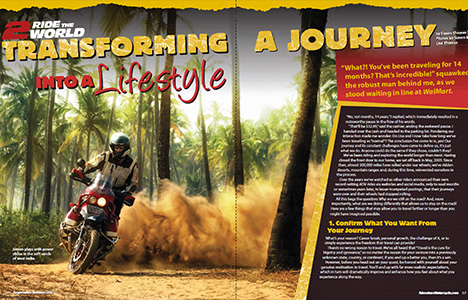 advmoto transform A journey Into a Lifestyle