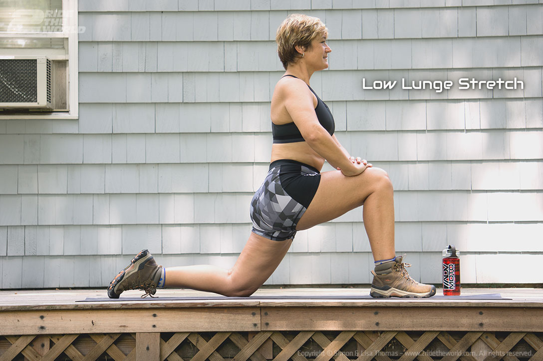 low lunge strech